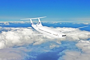 MIT Double Bubble Fuel Efficient Aircraft Design